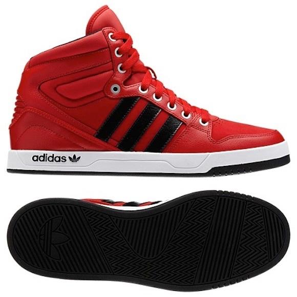 Adidas • Court Attitude High Top Sneakers